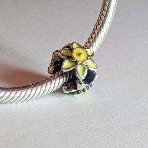 Chamilia Daffodil Charm